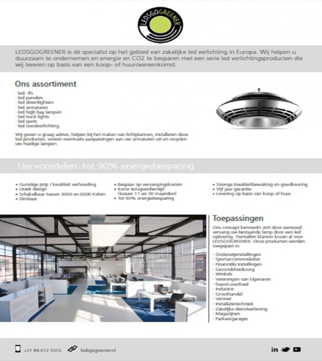ledsgogreener actualiseert bedrijfsinformatie ledsgogreener actualiseert bedrijfsinformatie vijfhonderdste gebouw uitgerust met onze led verlichting